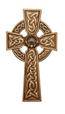 "8"" Claddagh Cross Pewter or Bronze - Discount Catholic Store"
