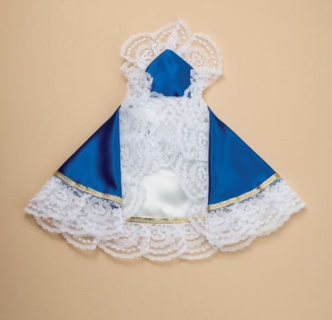 Infant of Prague Dress Royal Blue