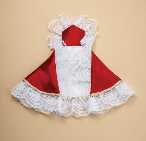 Infant of Prague Dress Red