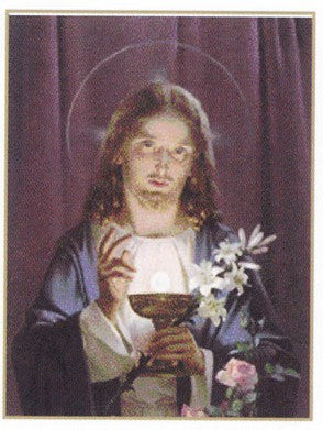 Jesus Offering Holy Communion Poster