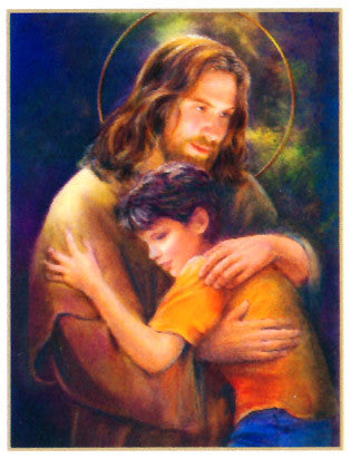 Jesus and Child Poster