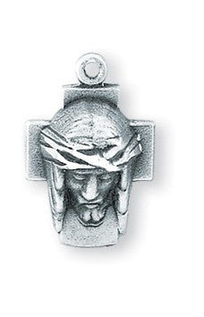 Head of Christ Sterling Silver Medal