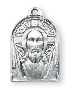 Sterling Silver Medal of Christ