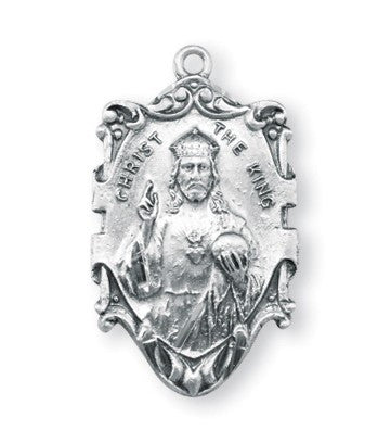 Christ the King Sterling Silver Medal