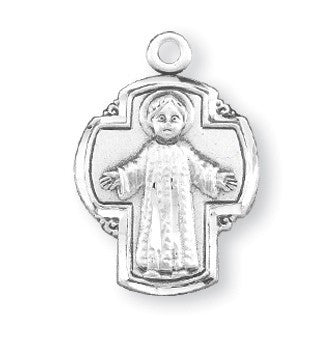 Christ the Child Sterling Silver Cross