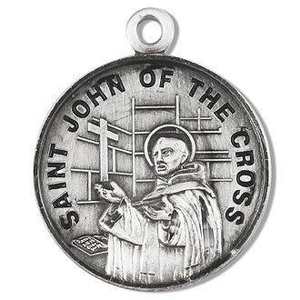 Saint John of the Cross Sterling Silver Medal