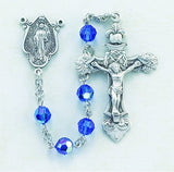 "Swarovski Crystal Rosaries<br><span style=""color: red;"">Available in 12 Colors</span> - Discount Catholic Store"