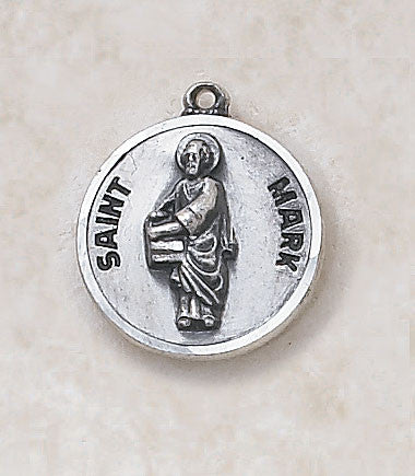 St. Mark Sterling Silver Medal