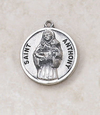St. Anthony Sterling Silver Medal