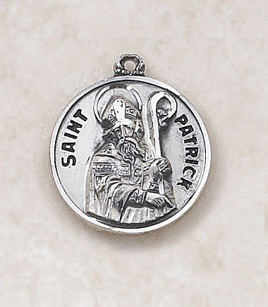 St. Patrick Sterling Silver Medal
