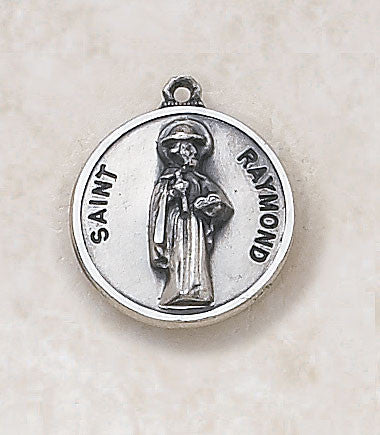 St. Raymond Sterling Silver Medal
