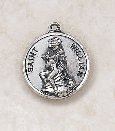 St. William Sterling Silver Medal