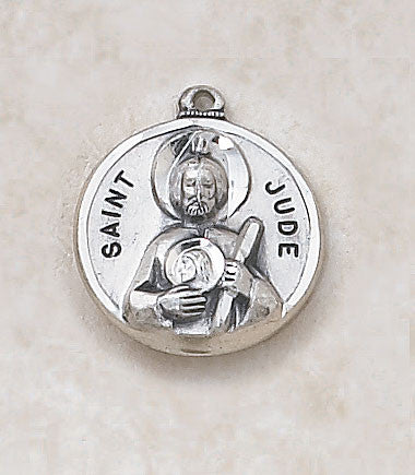 St. Jude Sterling Silver Medal