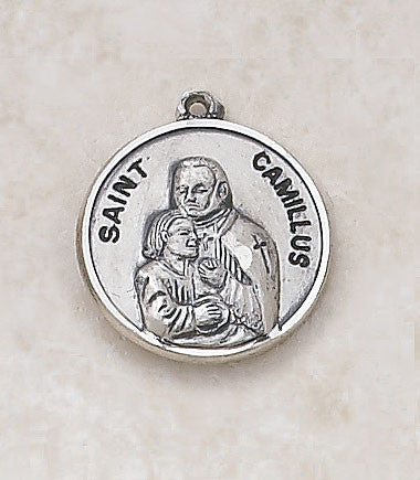 St. Camillus Sterling Silver Medal