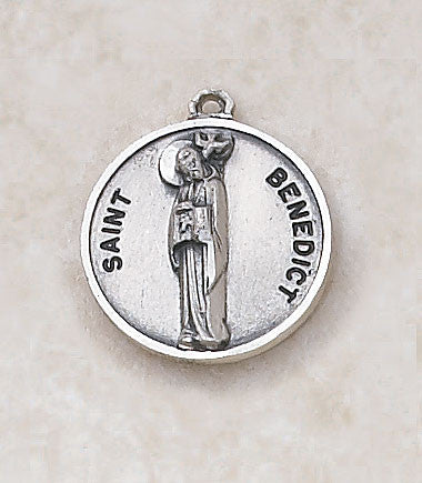 St. Benedict Sterling Silver Medal