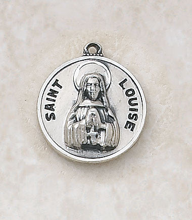 St. Louise Sterling Silver Medal