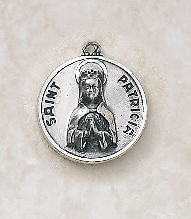 St. Patricia Sterling Silver Medal