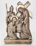 "28"" Aluminum Stations of the Cross Set - Discount Catholic Store"