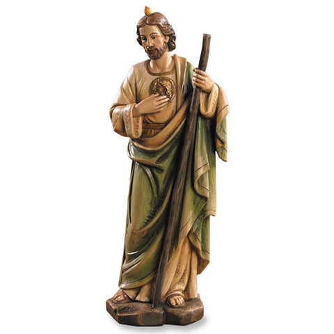 "8"" St. Jude Statue - Discount Catholic Store"