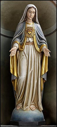 Immaculate Heart of Mary 53 Inch Statue
