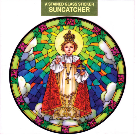 Infant of Prague Suncatcher