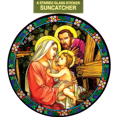 Holy Family Suncatcher