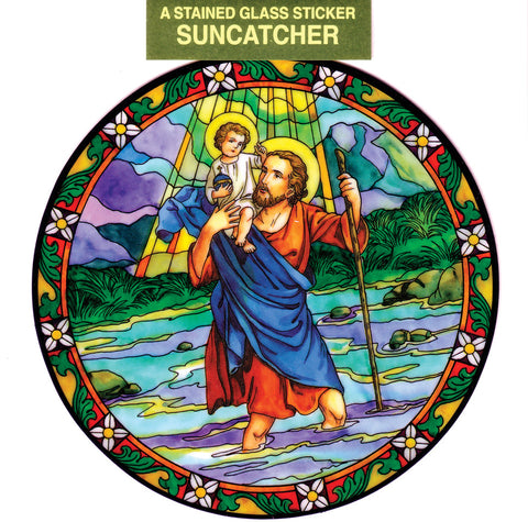 St. Christopher Suncatcher