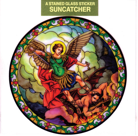 St. Michael Suncatcher