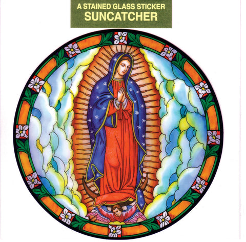 Our Lady of Guadalupe Suncatcher