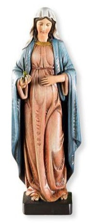 "8"" Pregnant Mary Statue - Discount Catholic Store"