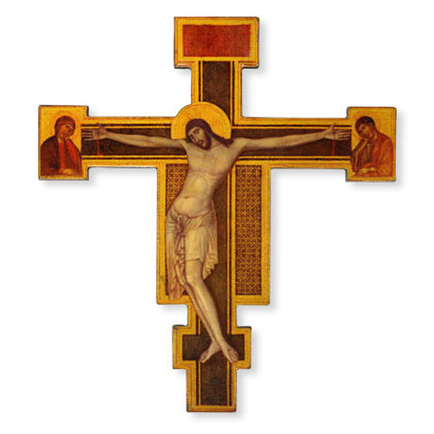 "10"" Icon Crucifix - Discount Catholic Store"