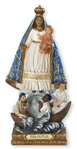 "8"" Our Lady of Charity Statue - Discount Catholic Store"