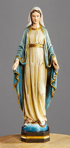 "12"" Our Lady of Grace Statue"