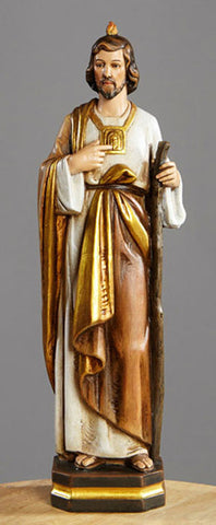 "12"" St. Jude Statue - Discount Catholic Store"