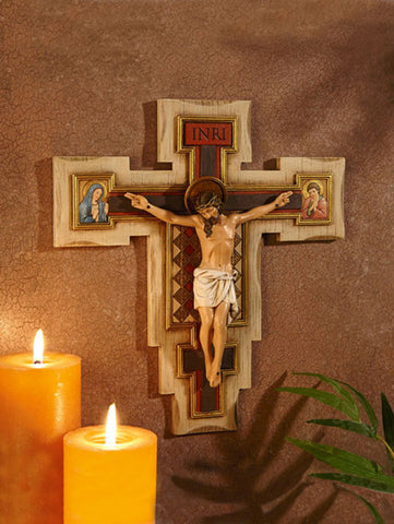 "12"" Calvary Crucifix - Discount Catholic Store"