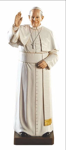 "8"" Pope Francis Statue - Discount Catholic Store"