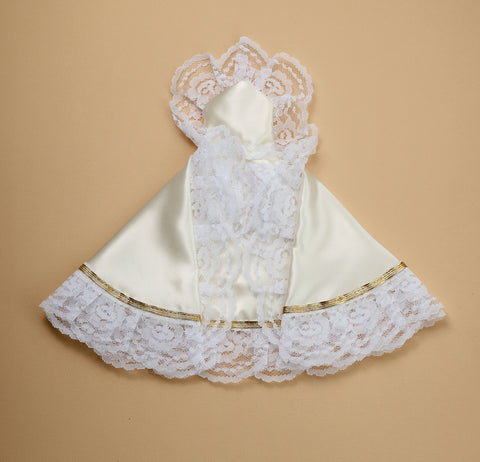 Infant of Prague Dress White