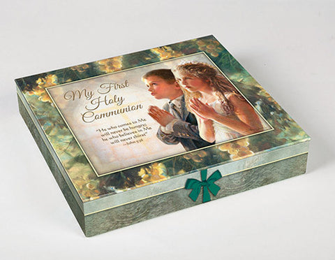 Deluxe First Communion Gift Set - Boy