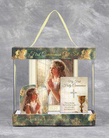 First Communion Gift Set - Girl - Discount Catholic Store