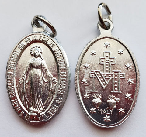 Miraculous Medal - ALUMINUM - Pack of 25
