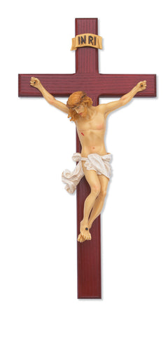 "15"" Cross with Life-like Colors - Discount Catholic Store"