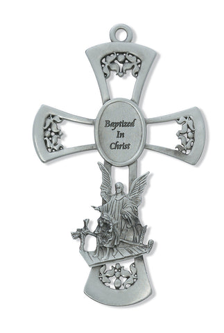 Baptized In Christ Wall Cross - Discount Catholic Store