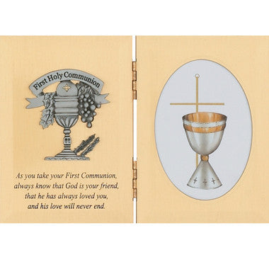 First Communion Photo Plaque - Discount Catholic Store