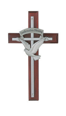 "7"" Confirmation Blessing Cross - Discount Catholic Store"