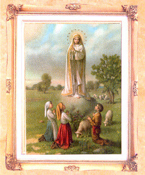 Framed Art - Our Lady of Fatima