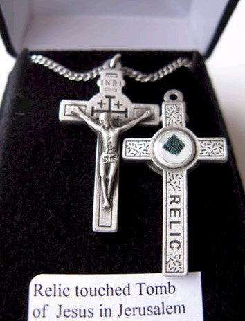 Jesus Relic Necklace - Discount Catholic Store