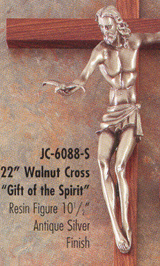 "Gift of the Spirit Crucifix 22"" - Discount Catholic Store"