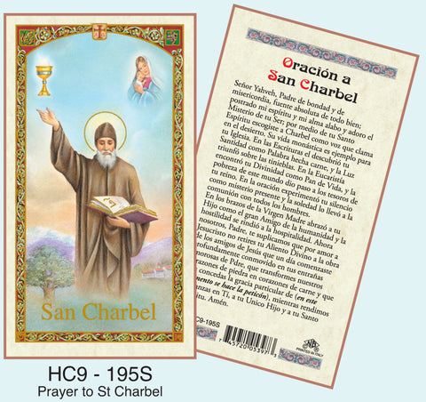 Oracion a San Charbel - Discount Catholic Store