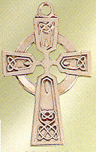 Sterling Silver Celtic Cross 1 Inch