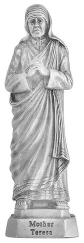 St. Mother Teresa Pewter Statue - Discount Catholic Store